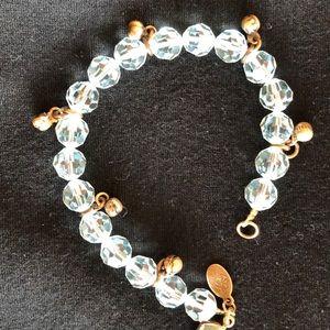 Kirks Folly aquamarine color bracelet